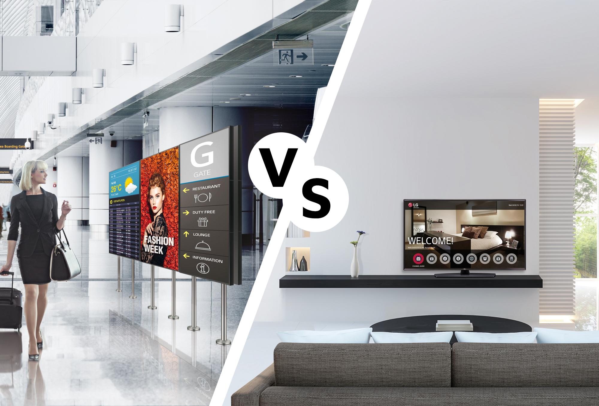 Les-differences-entre-un-Large-format-display-ecran-dynamiqu-et-une-television-traditionnelle