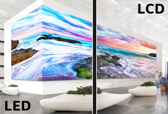 Différences entre les technologies LED et LCD ?