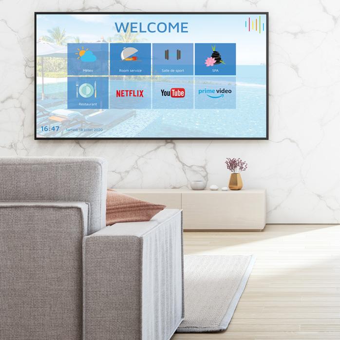 IP TV en chambre