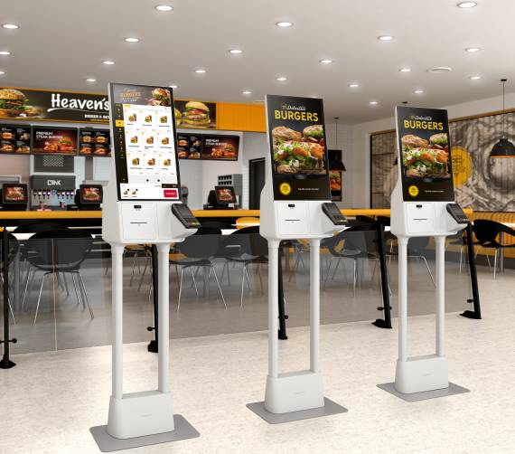 Borne de self-service Samsung Kiosk