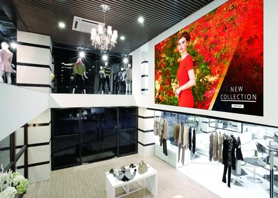 Mur d'images LG SVH7F