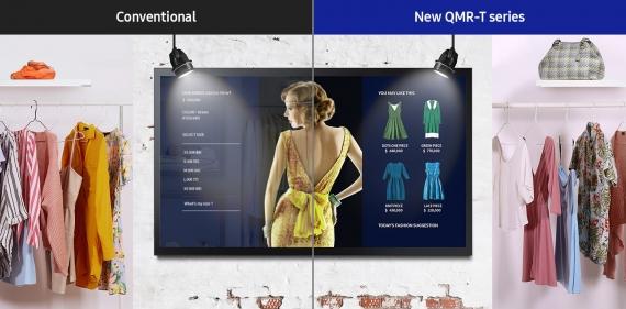 Écran tactile Samsung QMR-T