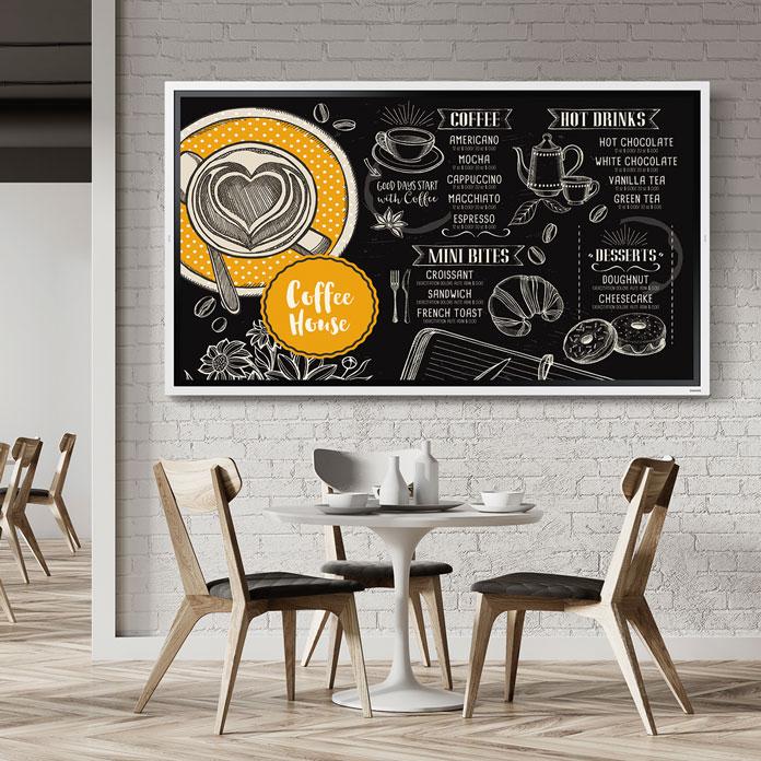 Affichage dynamique pour les cafés, hôtels & restaurants